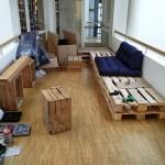 SG-Lounge: Umsetzung
